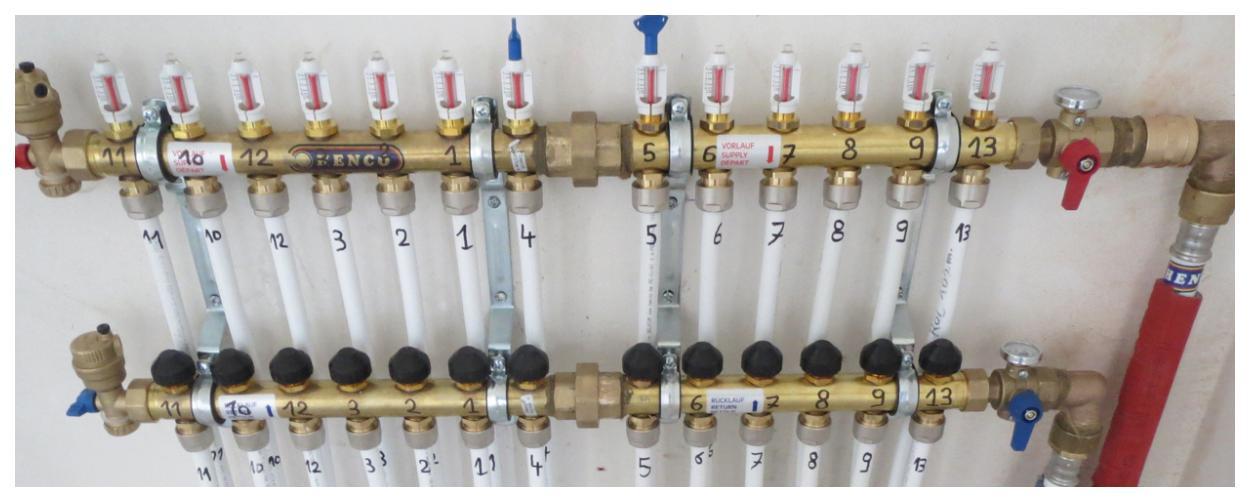 vermote sanitair middelkerke installatie vloerverwarming